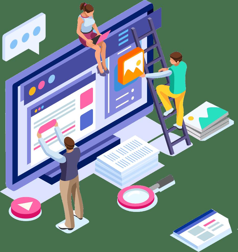 Website designing service in India